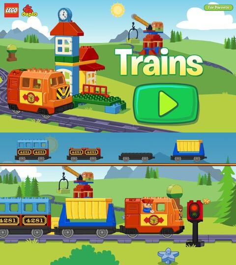 Lego Duplo Train - Android, iOS - Free