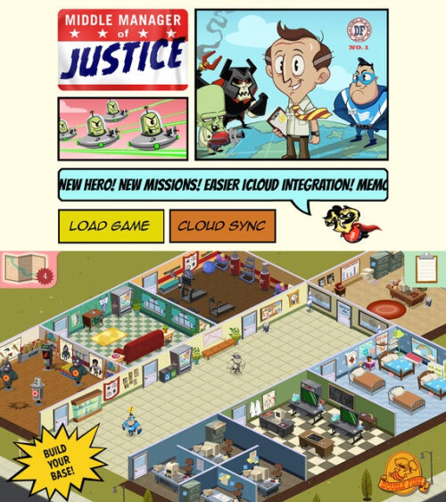 Middle Manager of Justice - Android, iOS - $0.99
