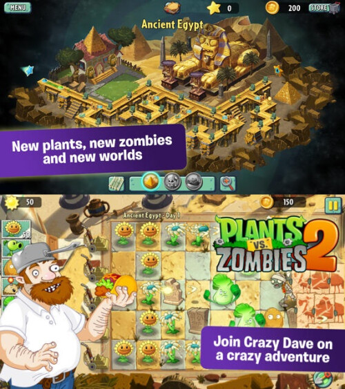 Plants vs Zombies 2 - iOS - Free