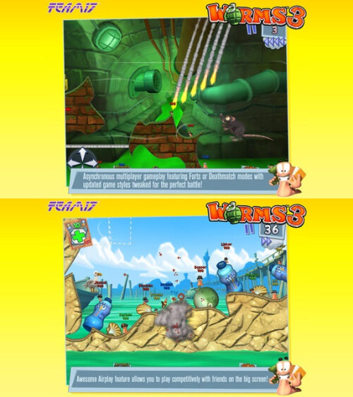Worms 3 - iOS - $4.99