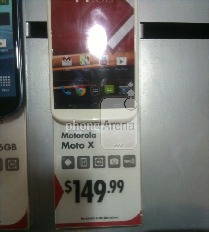 The Real Canadian SuperStore has the Motorola Moto X priced at $149.99 with a signed two-year pact - Motorola Moto X priced at $149.99 in Canada