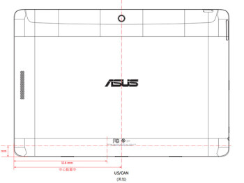 An unnamed ASUS slate just visited the FCC