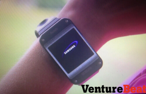 "First images of the Galaxy Gear show off Samsung's ""unique"" design sense"