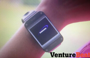 Leaked picture of Samsung Galaxy Gear smartwatch was not showing the finished product. Image courtesy of Venture Beat