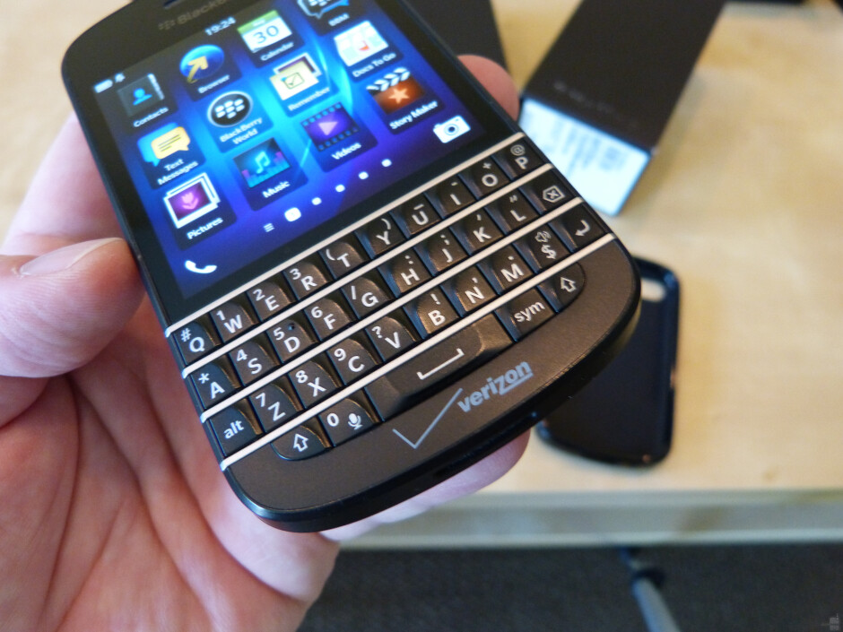 """The essence of BlackBerry has always been its top-shelf QWERTY keyboards, great for hammering out emails or chatting on BlackBerry Messenger. - Is being a """"niche player"""" feasible for BlackBerry?"""