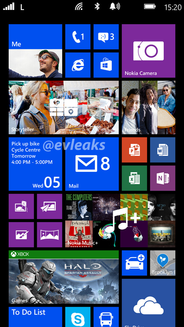 First Nokia Lumia 1520 Bandit screenshot surfaces: Live Tiles galore