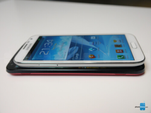 Acer Liquid S2 vs Samsung Galaxy Note II