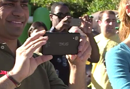 Google first showed us the  Nexus 5 in its teaser video for Android 4.4  KitKat