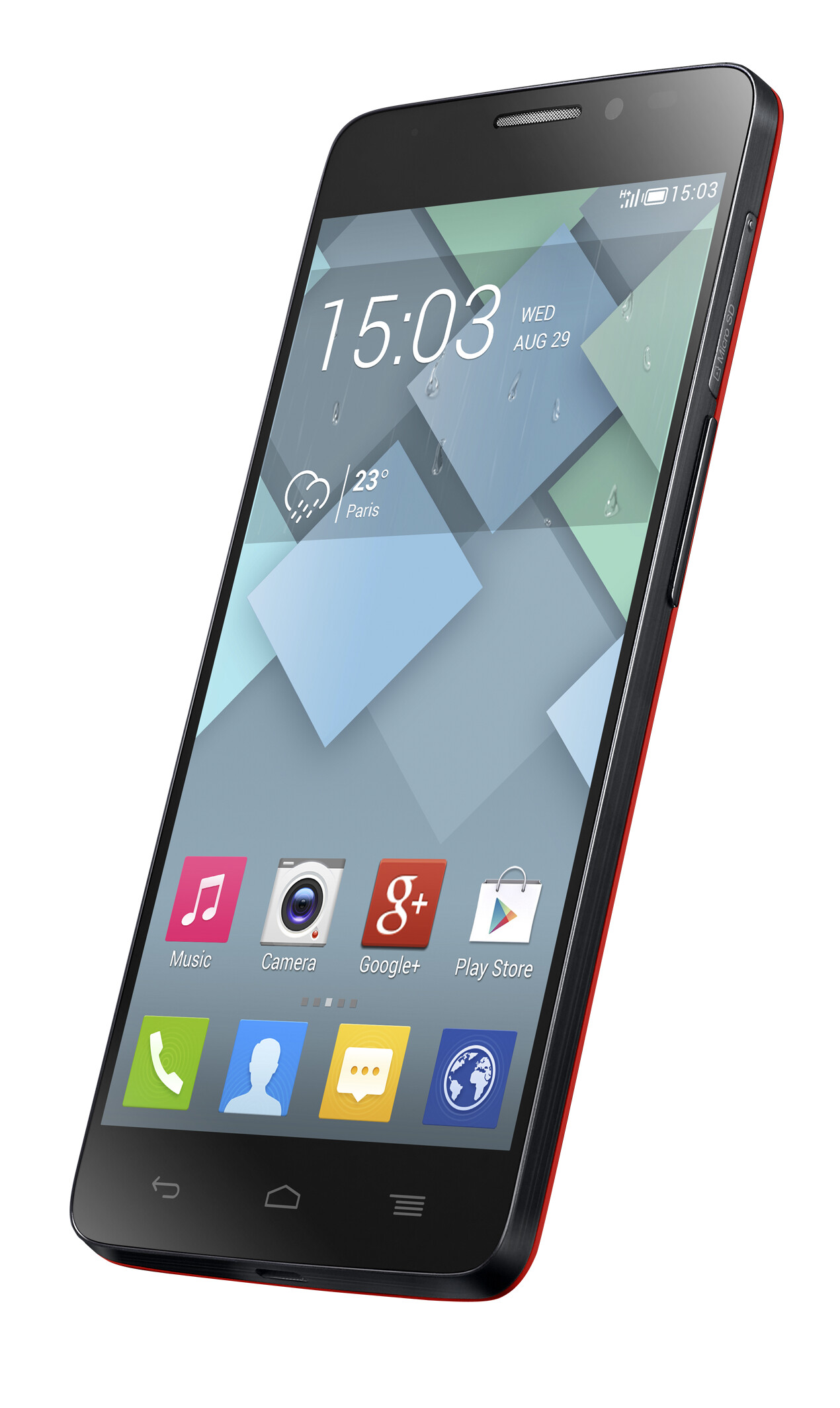 """Alcatel lifts cover off new Android flagship: 5"""" razor ..."""