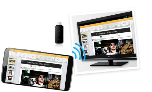 The Hero also supports wireless mirroring to an external monitor