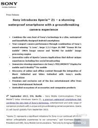 Sony-Xperia-Z1-Honami-Press-Release-1