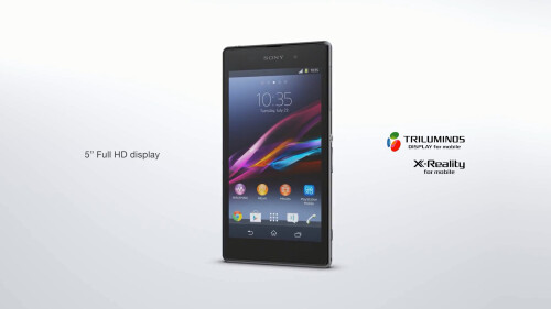 Sony Xperia Z1 promo video leaks minutes before announcement