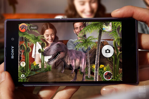 Augmented Reality, dinosaurs are back!