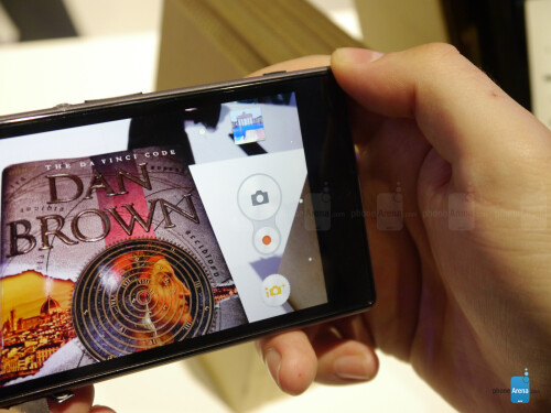 Sony Xperia Z1 Hands-on