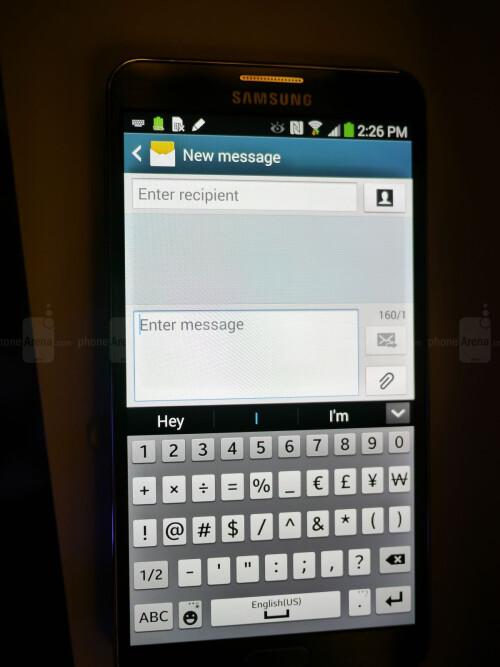 Samsung Galaxy Note 3 screenshots
