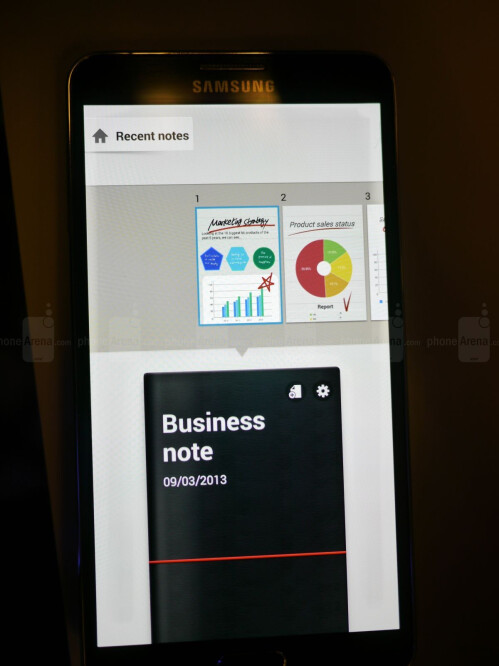 Samsung Galaxy Note 3 screenshots
