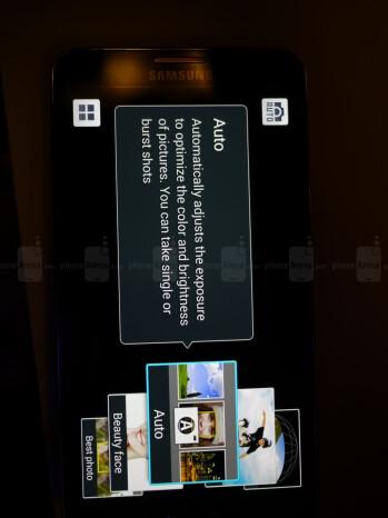 Camera app interface.