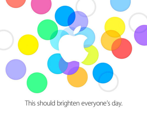 Invitation to the Apple iPhone unveiling in China and the U.S.