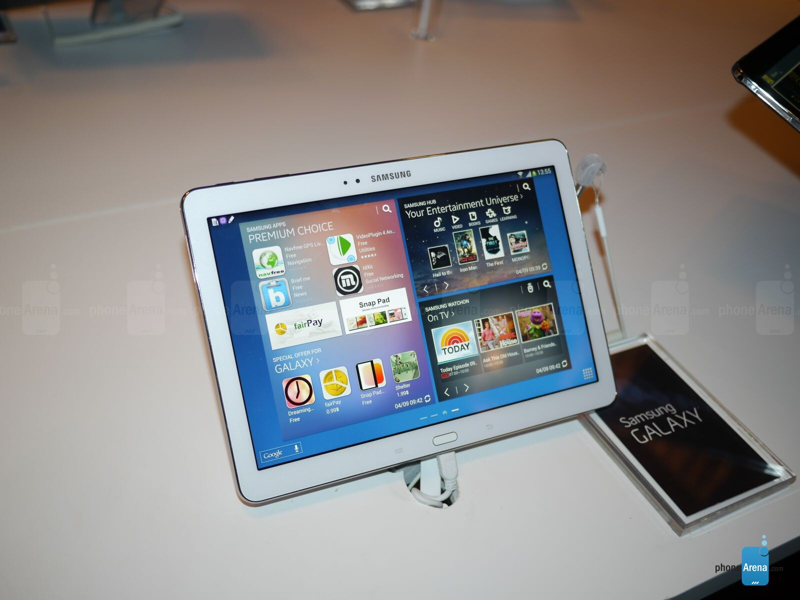 samsung galaxy note 10 1 2014 edition hands on. Black Bedroom Furniture Sets. Home Design Ideas
