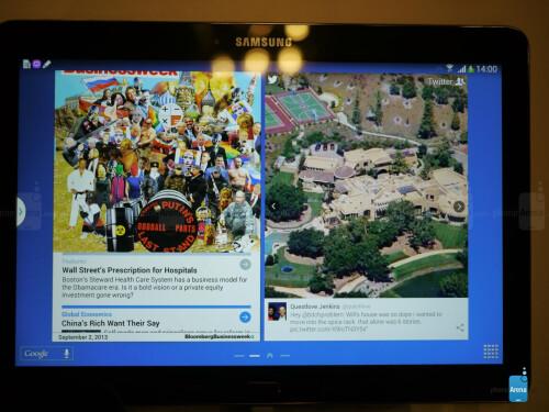 Samsung Galaxy Note 10.1 (2014 Edition) screenshots