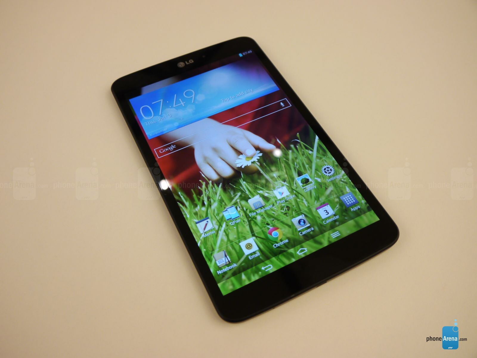 LG G Pad 8.3 Hands-on | PhoneArena reviews