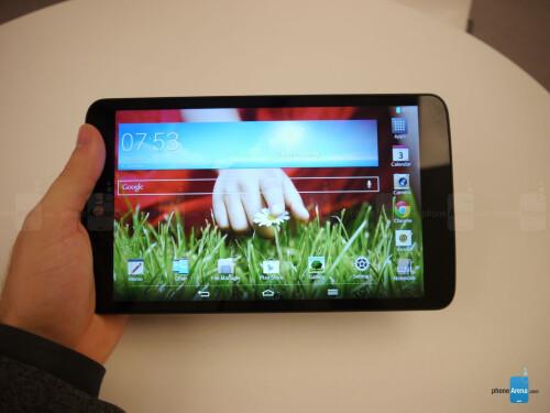 LG G Pad 8.3 Hands-on
