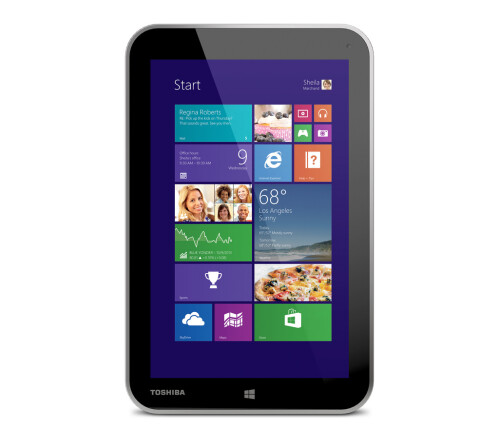 "Toshiba debuts the 8"" Encore - a $330 Windows tablet that fits in your palm"