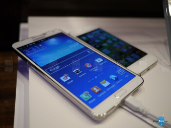 Samsung Galaxy Note 3 vs Apple iPhone 5