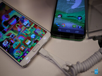 Samsung Galaxy Note 3 vs Motorola Moto X