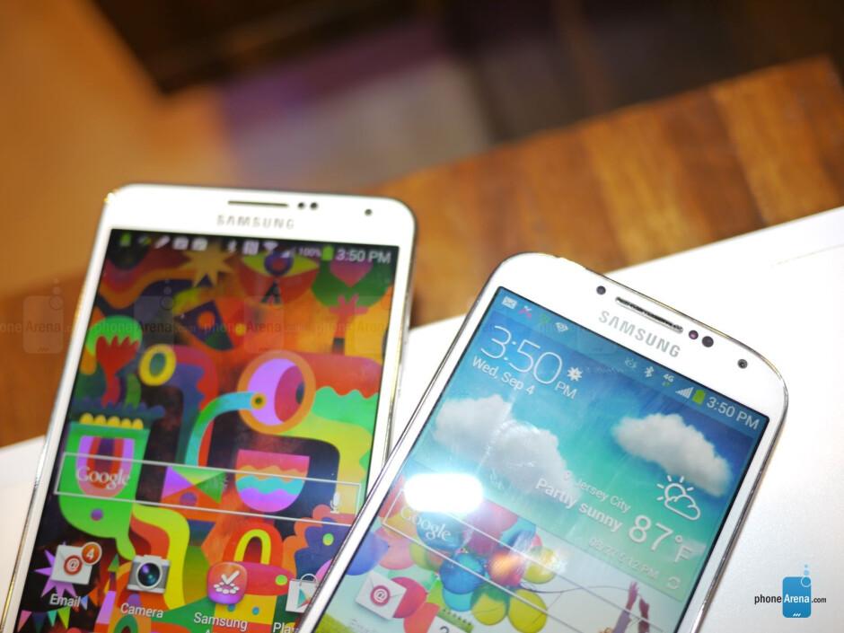 Samsung Galaxy Note 3 vs Samsung Galaxy S4 - Samsung Galaxy Note 3 vs Samsung Galaxy S4: first look