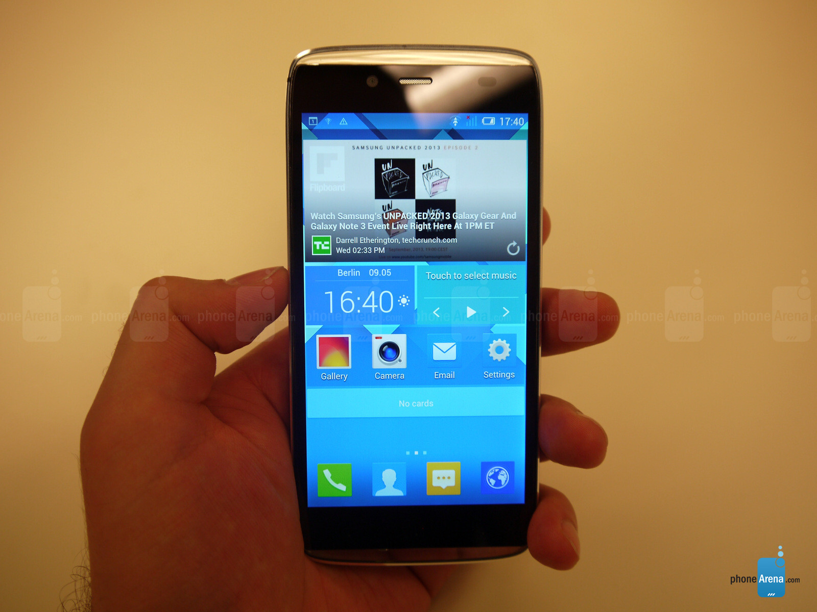 Как сделать скриншот экрана смартфона Alcatel One Touch? 3