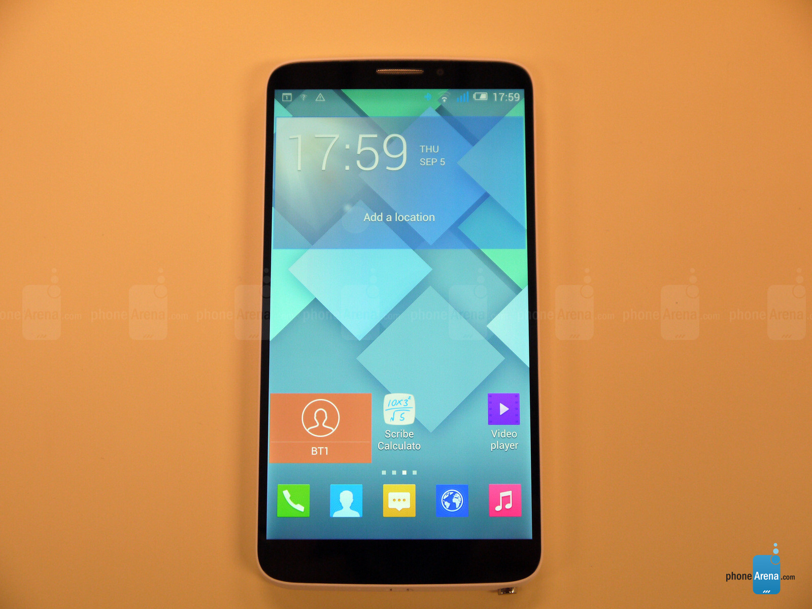 Case Design where can you buy phone cases : Alcatel One Touch Hero Hands-on : PhoneArena reviews