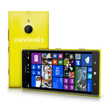 Giant Nokia Lumia 1520 leaks out in yellow armor