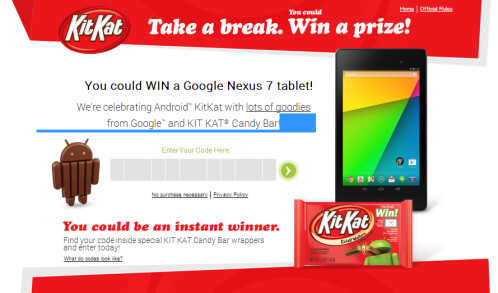 Android Kit Kat contest
