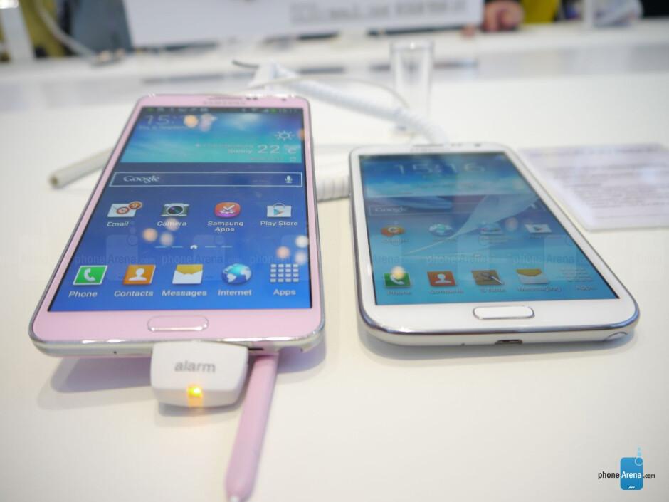 Samsung Galaxy Note 3 vs Samsung Galaxy Note 2: first look