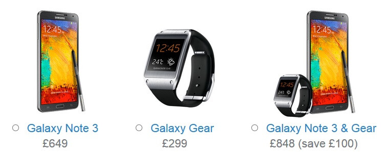 سامسونج تطلق الأسعار الرسمية لـ Galaxy Note 3 وGalaxy Gear عبر متجرها