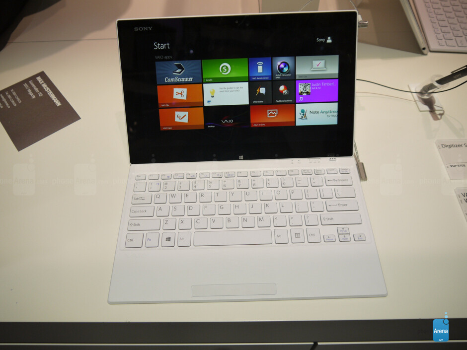 Sony Vaio Tap 11 - Sony Vaio Tap 11 Hands-on