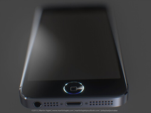 Artist's renders of Apple iPhone 5S home button