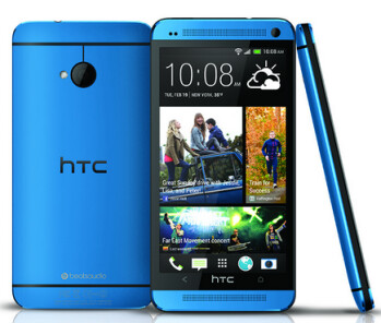 THe HTC One in Metallic Blue launches as a Best Buy exclusive on September 15th
