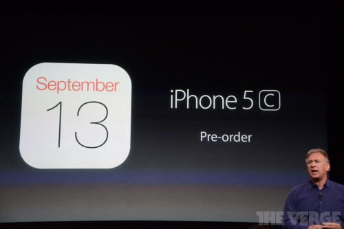 iPhone 5S and 5C preorders to start September 13th, release date set for September 20th