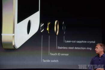 """""""Inside"""" the fingerprint sensor of the new iPhone 5S"""
