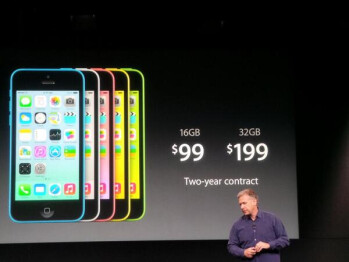 The Apple iPhone 5C replaces the Apple iPhone 5 in Apple's line up