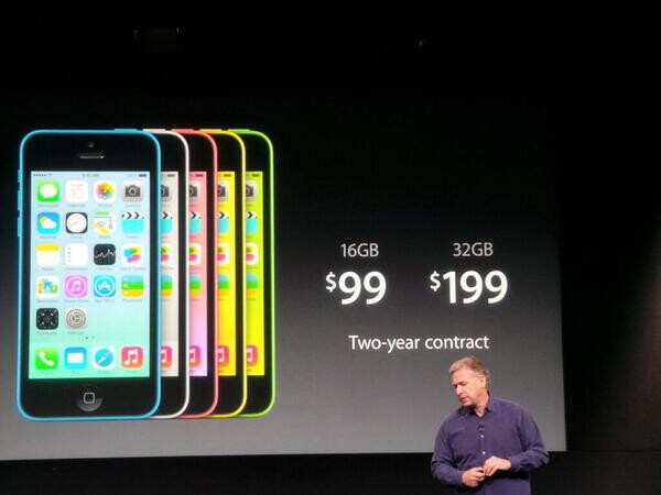 The Apple iPhone 5C replaces the Apple iPhone 5 in Apple's line up - Apple reshuffles its line up: Apple iPhone 5S, Apple iPhone 5C and Apple 4S