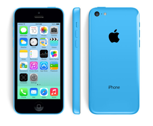 The colorful iPhone 5C is official