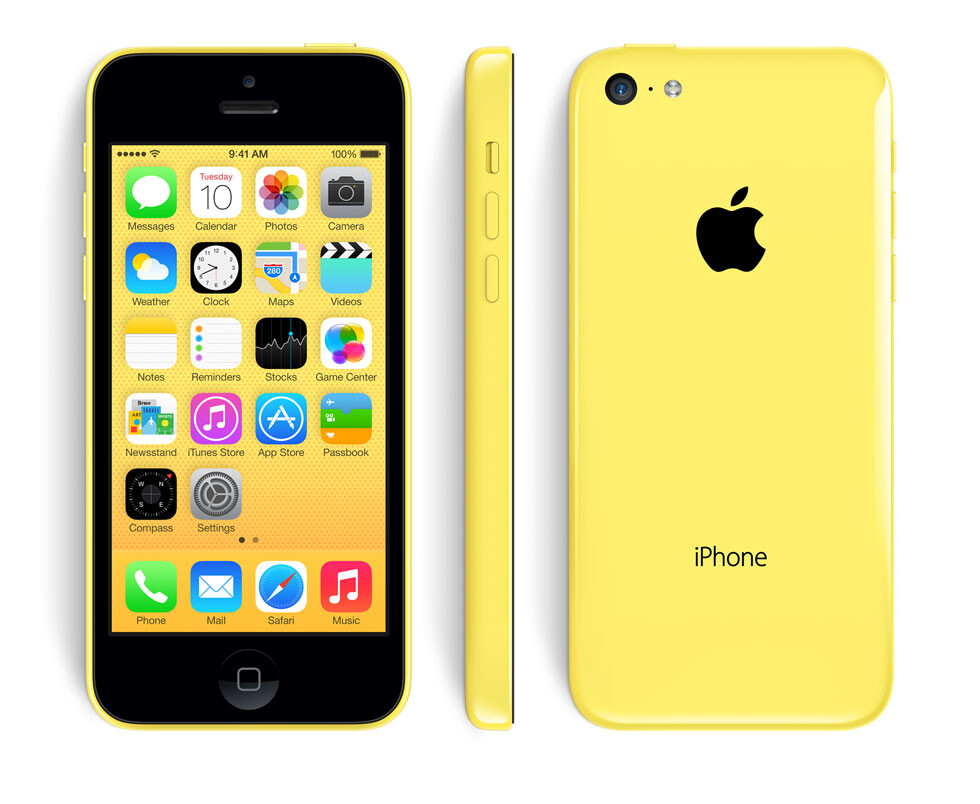 The colorful iPhone 5C is official: review Apple's first ...
