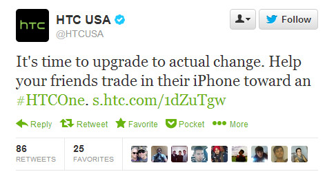 Nokia, HTC, Motorola and more take to Twitter to rain on Apple's big day
