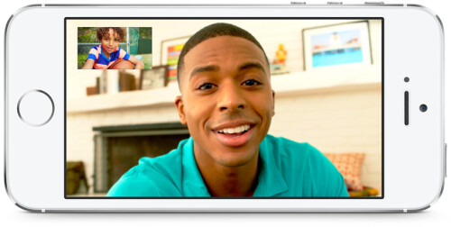 New FaceTime HD front camera