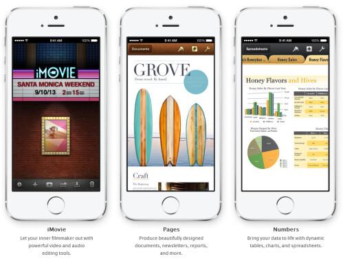 Free iWorks, iMovie and iPhoto