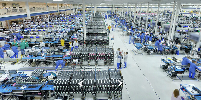 Take a peek inside Motorola's Moto X US assembly facility