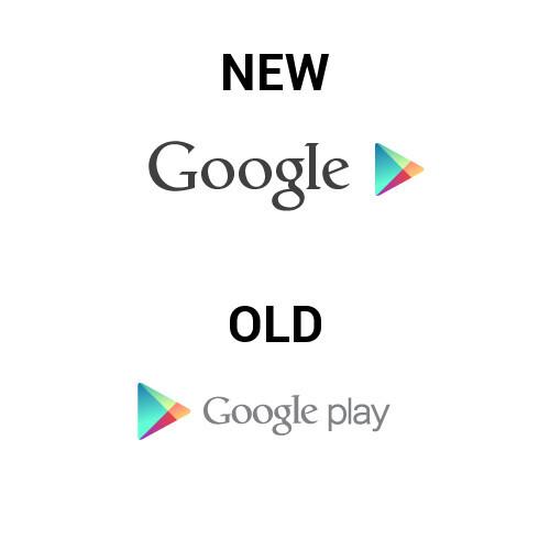 Google rolls out new Google Play logo, pulls it back